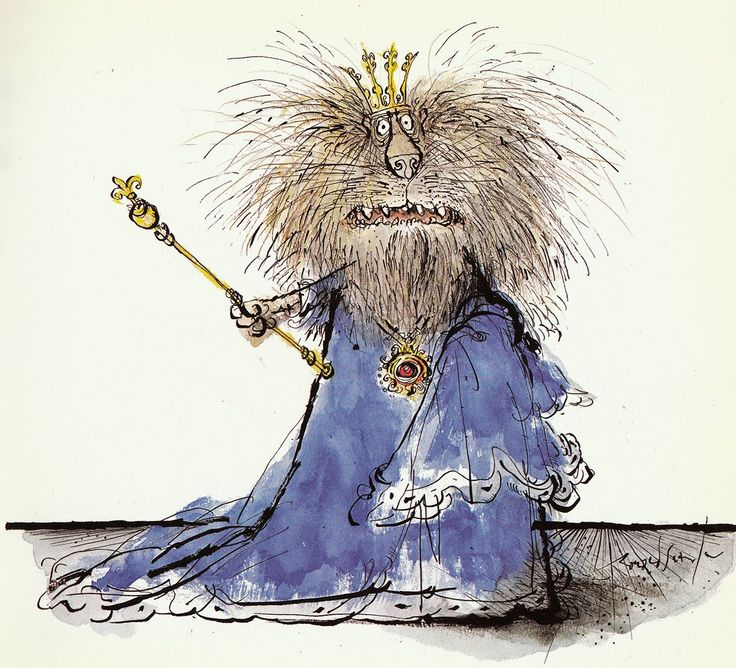 By Ronald Searle.