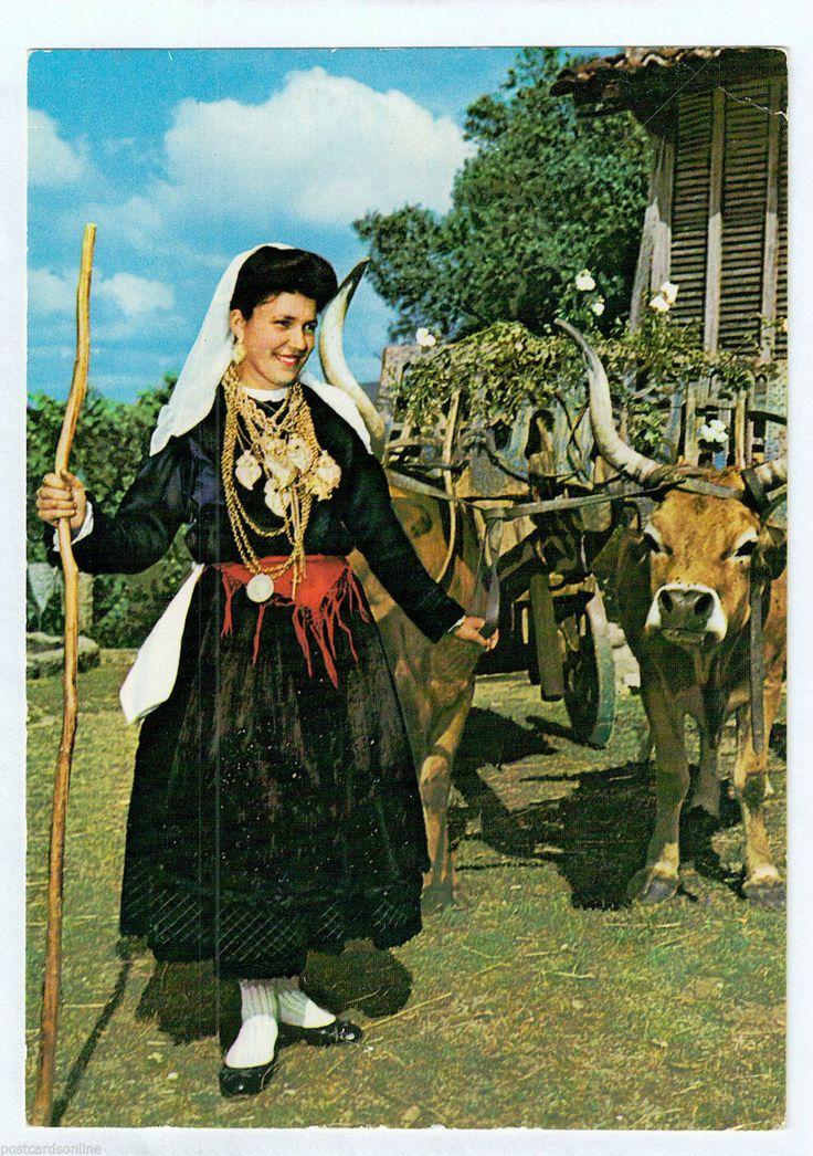 D8964CGT Portugal Minho Costume Postcard | eBay