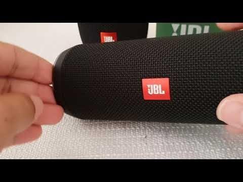 JBL Flip 4 bluetooth speaker bass test recorded with Samsung