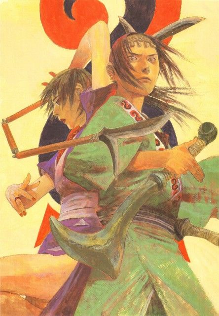 Hiroaki Samura, Blade of the Immortal, BotI Illustration Collection, Makie Otono-tachibana, Anotsu Kagehisa