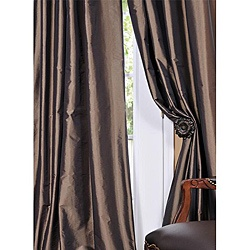 @Overstock - Defined by a unique sheen and fine weave, this exclusive faux silk taffeta curtain panel showcases a gorgeous, timeless design. This window panel has a crisp, smooth finish in a brilliant shimmering color. http://www.overstock.com/Home-Garden/Solid-Faux-Silk-Taffeta-Mushroom-108-inch-Curtain-Panel/5624142/product.html?CID=214117 $79.19