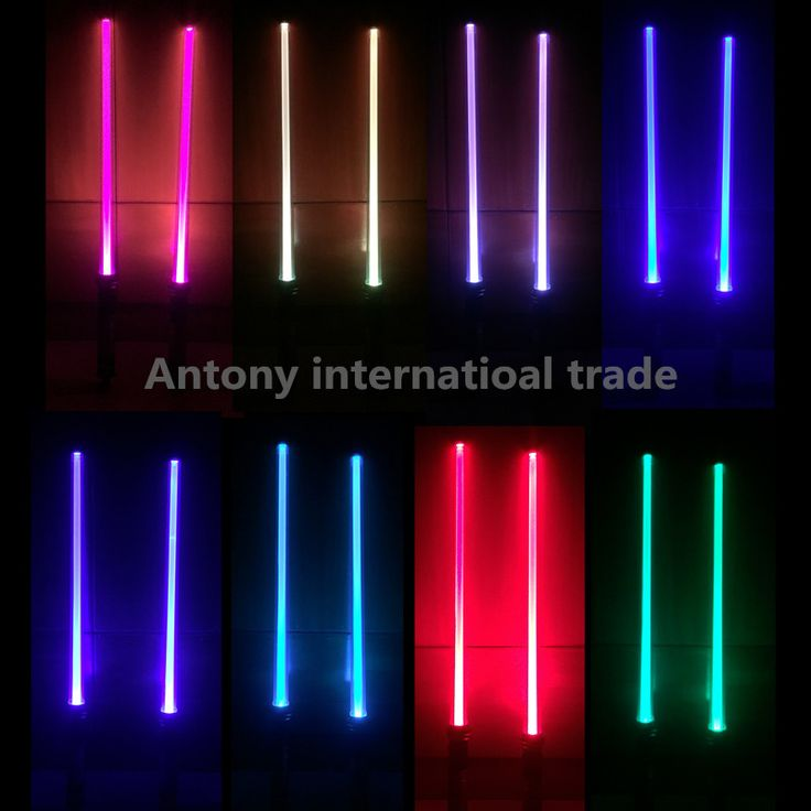 2 pcs/lot scalable Lightsaber Led Flashing Light Star Wars Sword Toys Cosplay Mutual percussion Sabers for boys Action Rogue One