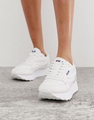Fila White Orbit Zeppa L Trainers in 2019 | c l o s e t ...