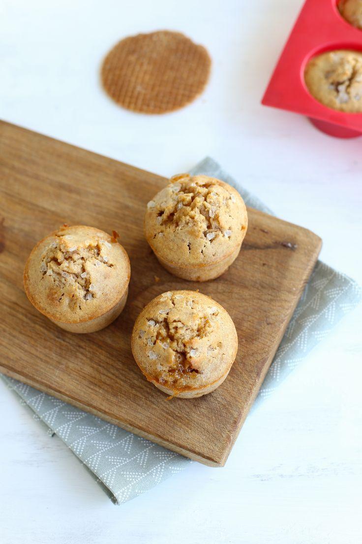 Stroopwafel-kaneelmuffins