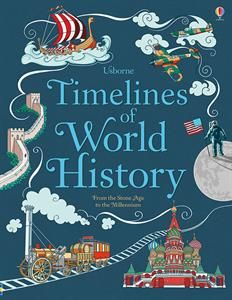 $19.99 Discover the history of the world thanks to this detailed book with lots of timelines to help children understand the chronology of world history.