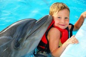 Op het einde van het verhaal komt een van Bens grootste dromen uit. Hij mag in een groot waterbassin zwemmen met dolfijnen. In tegenstelling tot alle psychologen die hij heeft bezocht hielp deze therapie uitstekend. Het is helemaal niet nodig om uit je woorden te komen bij de dolfijnen en dat is voor Ben een zalig gevoel. Hij voelt zich eindelijk vrij en hij is eindelijk gelukkig na alle ellende die hij heeft meegemaakt.