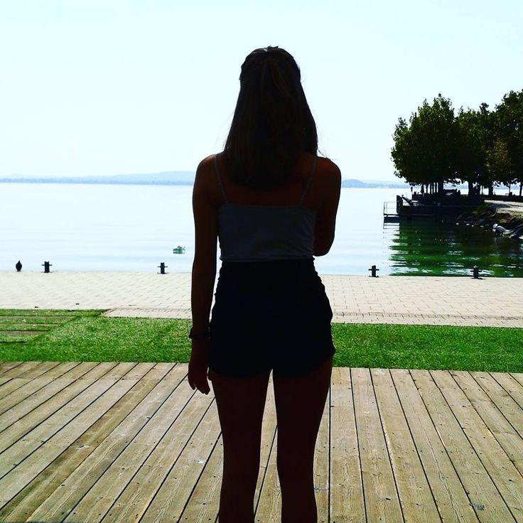 Still #summer in #Hungary. Have a nice weekend! #relax #Révfülöp #móló #Balaton #szuperavíz #utoljára #akicsaktudazjöjön