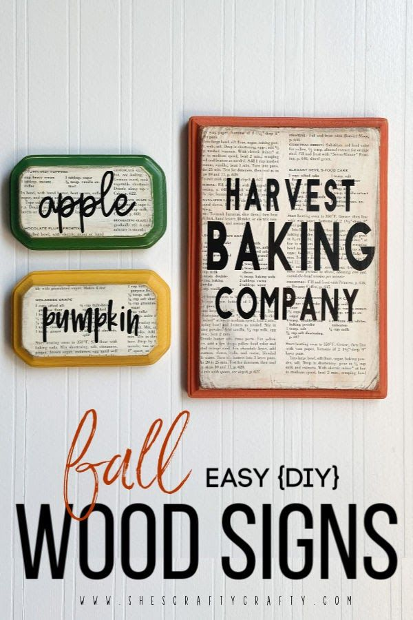 Easy Diy Wooden Signs For Fall Wooden Signs Diy Easy Diy Wooden Diy