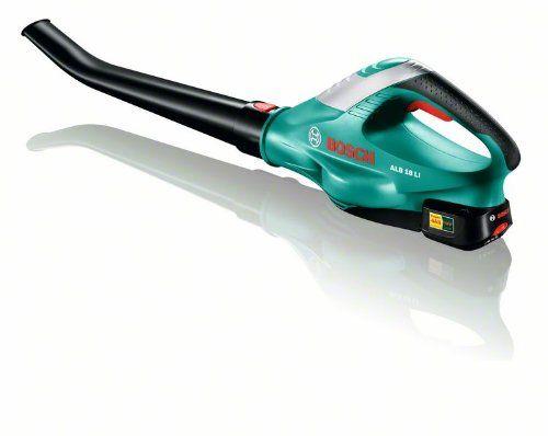 Souffleur sans fil ALB 18 LI 1 batterie, 18V, technologie Syneon: Vitesse de soufflerie réglable jusqu'à 210 km/h Batterie lithium-ion 18v…
