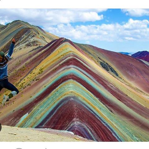 Headed to Peru soon hoping to to check out the rainbow mountains on the way to Michu pichilemu. Turns out they do exist!