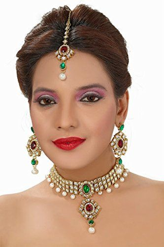 Indian Bollywood Red & Green Stone Pearls Wedding Wear Ku... https://www.amazon.com/dp/B01N5S93LU/ref=cm_sw_r_pi_dp_x_SbEHybG35ECT1