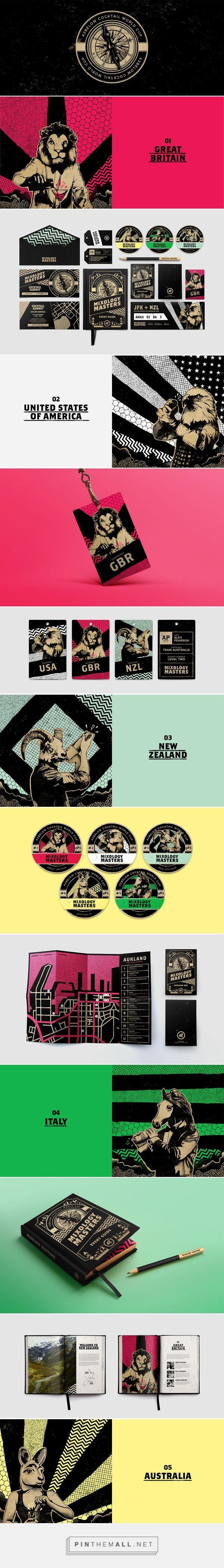 Cocktail World Cup Event Branding by TJ Nicklin   Fivestar Branding – Design and Branding Agency & Inspiration Gallery