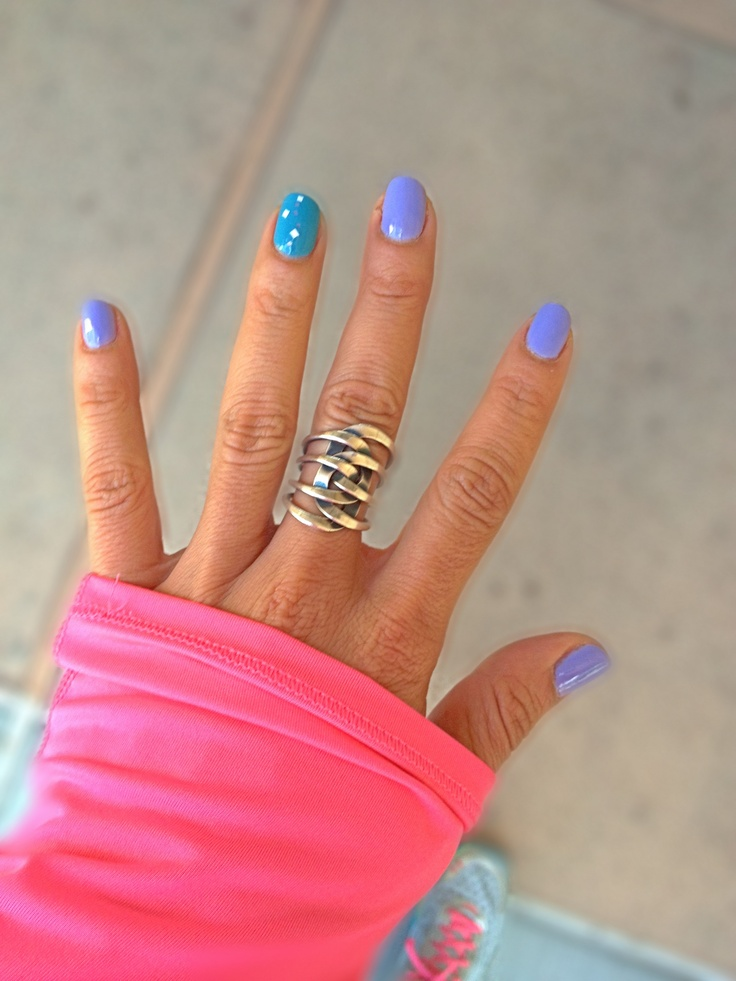 Such A Great Inspiration For Today Find More Positive: Spring Nails! OPI You're Such A Budapest & (ring Finger