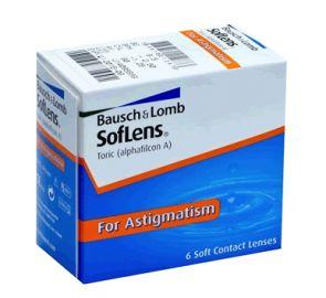 Lentes de Contacto SofLens Tórico para Astigmatismo