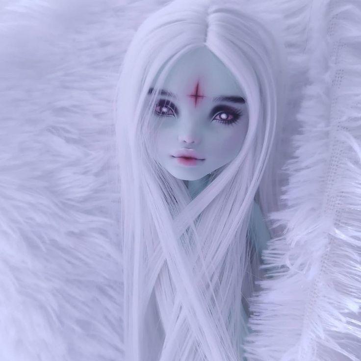 RESERVED for Paula custom OOAK repaint Monster High doll