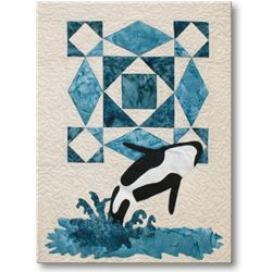Northern Wilderness Orca Block Quilts Quilts Quilt