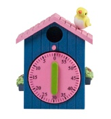 Rice dk Birdhouse Kitchen Egg Timers - Too cute...actually cheaper than the other ugly ones I have purchased that you typically see in stores.