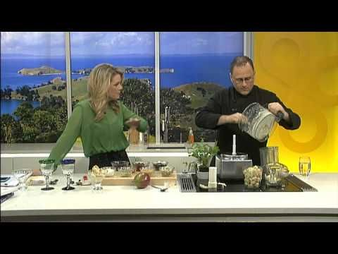 TV1 Good Morning - Revive - Jeremy Dixon - 15 Jun 2014  - Healthy Ice Cream