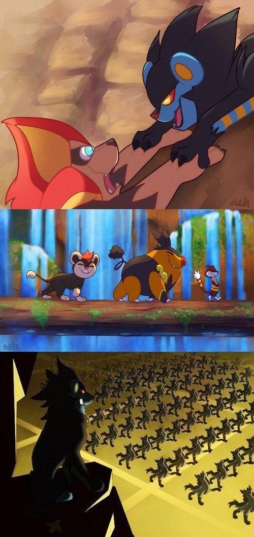 When Pokémon Meets The Lion King