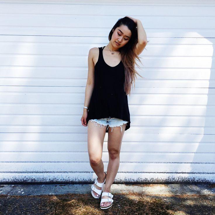 #cottonon #f21 #summer #outfit #ootd #birkenstock