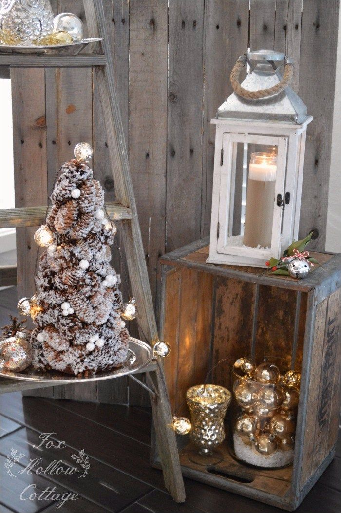42 Stunning Rustic Christmas Decorating Ideas Decorating Ideas