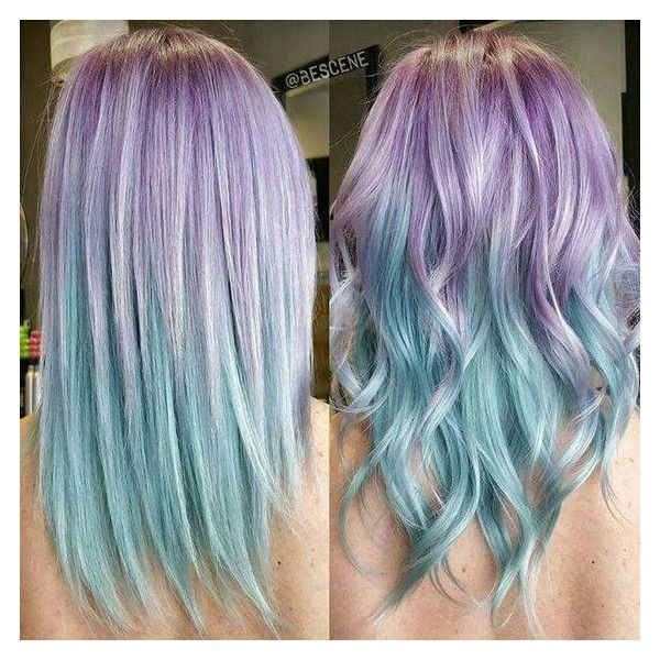 25 Cool Pastel Hair Color Ideas for 2017 ❤ liked on Polyvore featuring hair