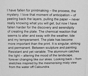 Looking Back - artist blurb