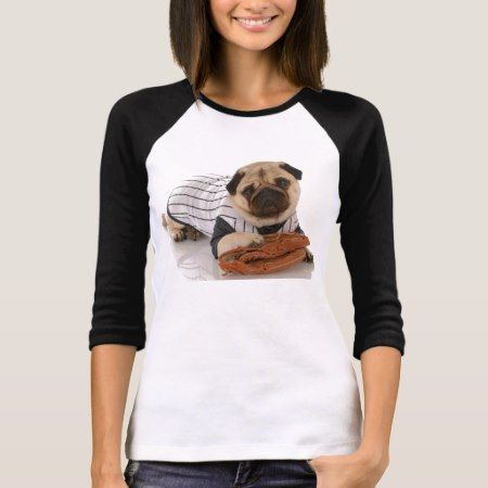 Pug Baseball T-Shirt - click to get yours right now!