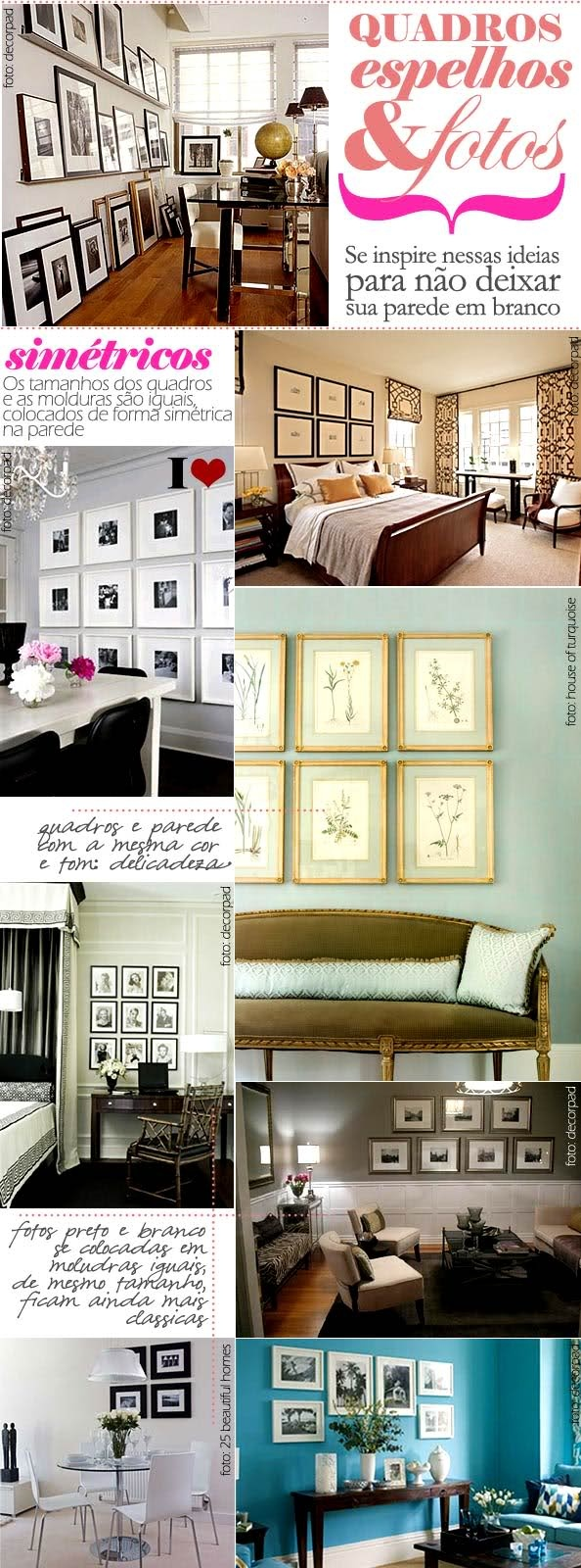 39 best Quadros images on Pinterest | Frames, Home decor and House ...