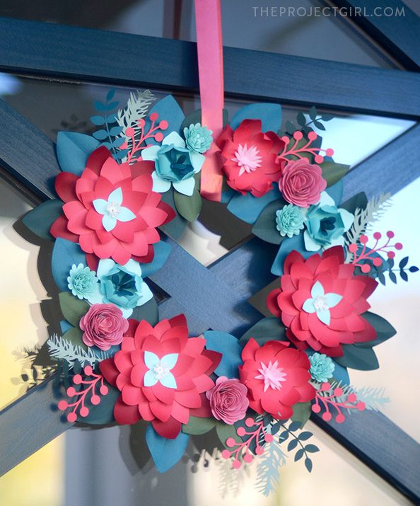 Decorating Paper Crafts For Home Decoration Interior Room: 25+ Best Ideas About Paper Wreaths On Pinterest