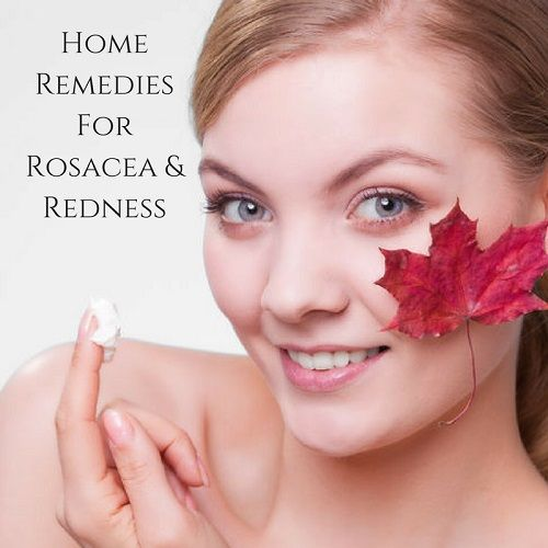 """Rosacea is a chronic skin problem that normally appears on a person's cheeks, forehead, and nose and usually affects people between thirty and fifty years of age, man or woman. It generally starts off as minor redness (or blushing) that may appear and disappear all by itself. But for some people, over time that redness develops into more frequent and persistent flushing of the skin, red lines, dry or even burning/itching skin and even bumps or pus-filled pimples. Click for more details."