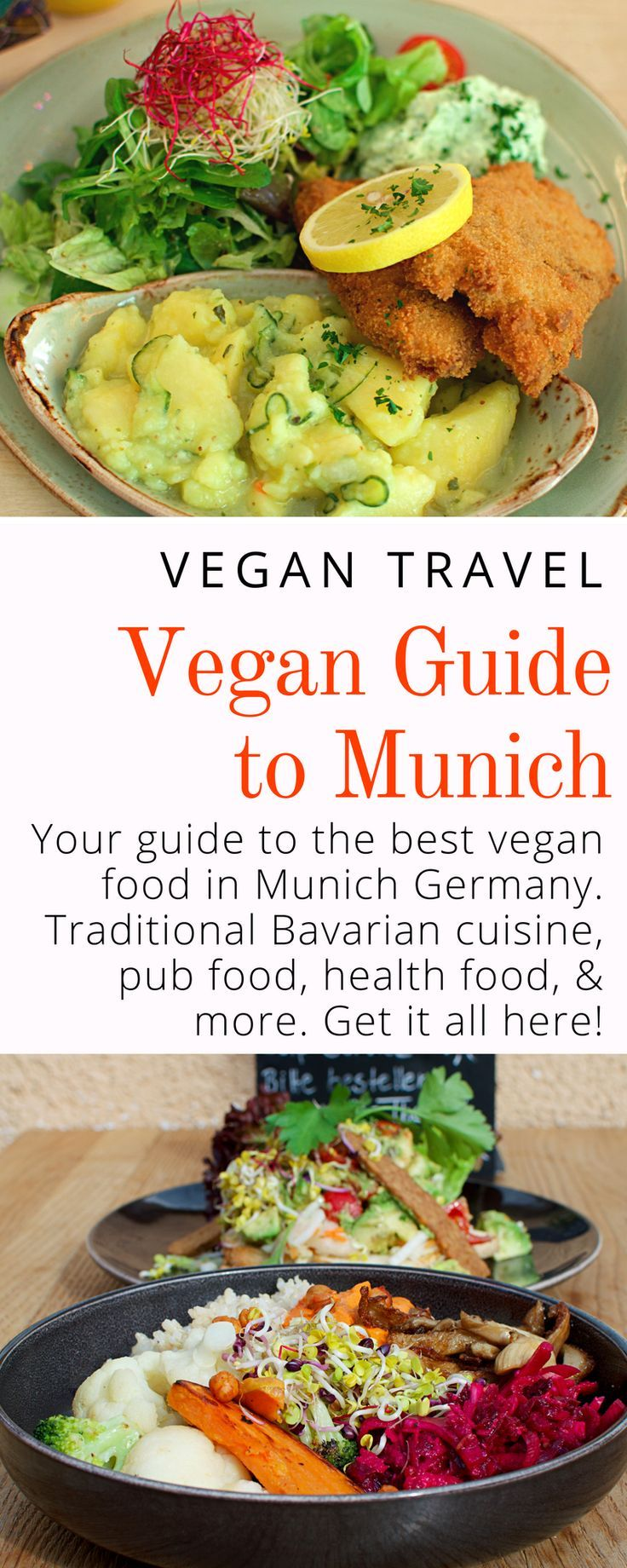 Vegan Munich Guide Best Vegan Food In Munich Germany Veggie Visa Vegan Guide Vegan Recipes Pub Food