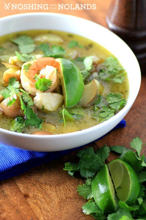 222 best seafood soups images on pinterest fish soup for Mexican fish soup recipe