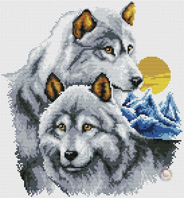 1000 bilder zu hama ulve hunde auf pinterest w lfe for Sticken vorlagen kostenlos