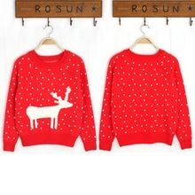 Fashion knitwear cute embroidery reindeer design for ugly Christmas Christmas Sweater Patterns  Best Buy follow this link http://shopingayo.space