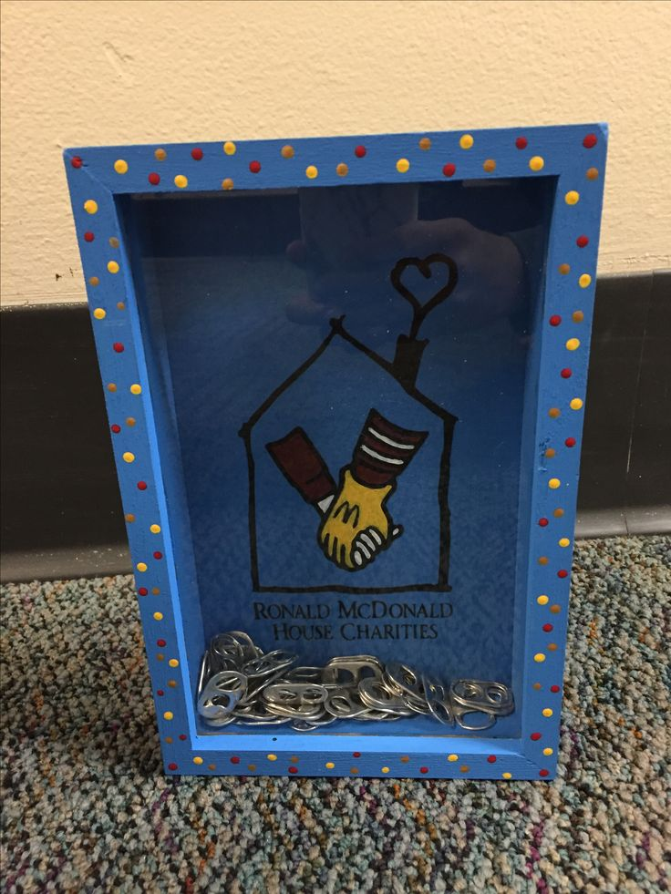 Ronald McDonald House Charities Pop Tab Bank