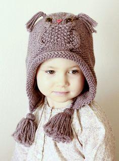 Örgü Çocuk ve Bayan Kışlık Şapka Modelleri | Hobilendik