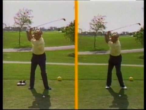 Sam snead talking about Overswinging