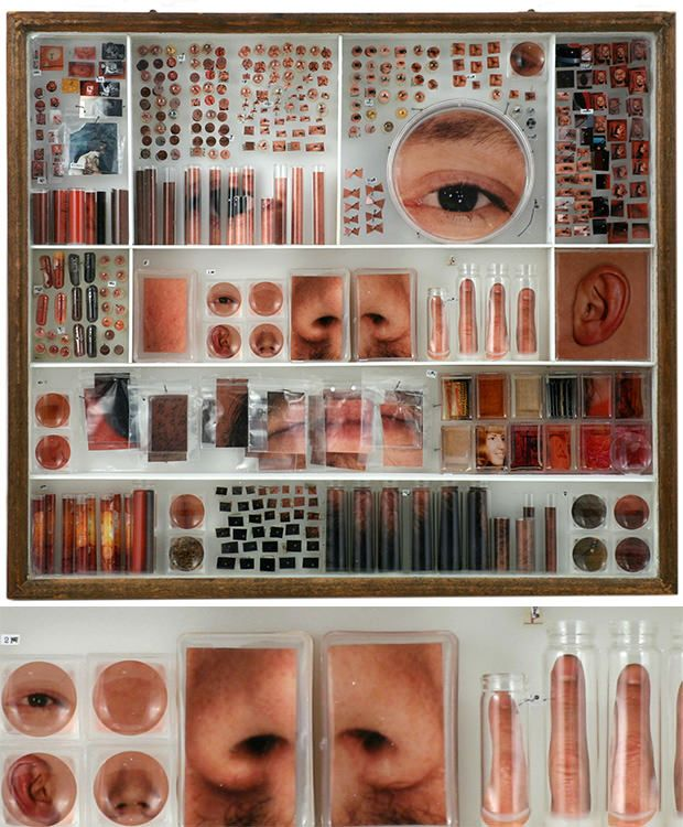 take a series of non make-uped face feature, and dolled up face features - each one could become a product on your IDENTITY shelf.