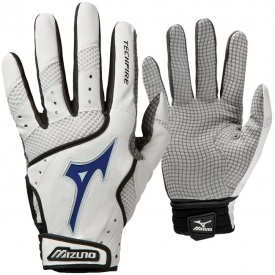 Mizuno Techfire Switch Power Grip Palm Batting Gloves Adult Pair