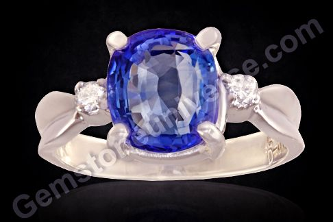 The beautiful Blue Sapphire