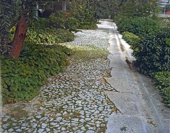 stone clad arbor - Google Search