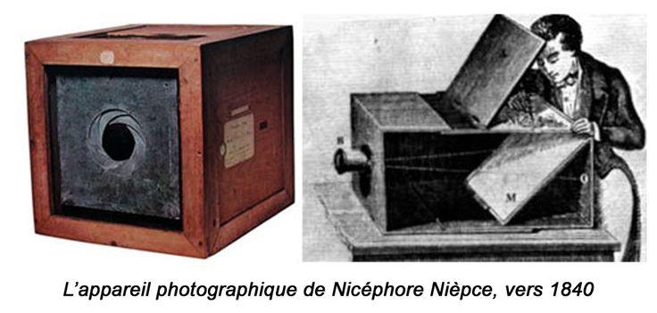 On considère que Nicéphore Niépce (1765-1833) est l'inventeur de la photographie.