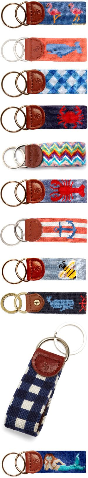 """""""smathers and branson keychains"""" by okieprep ❤ liked on Polyvore"""