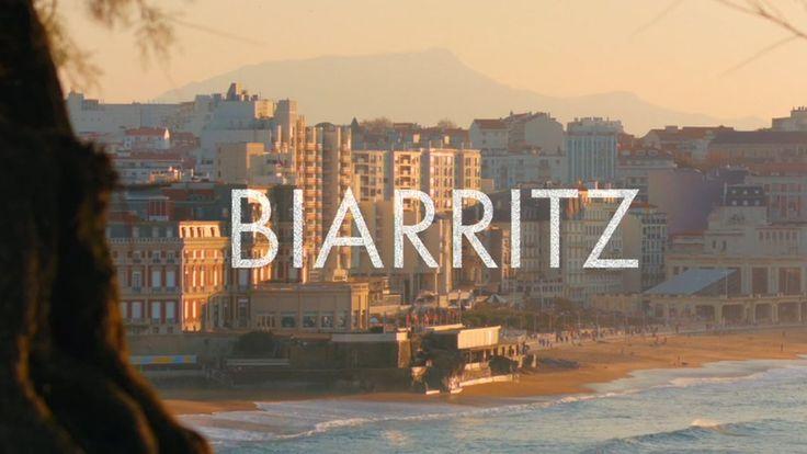 Découvrons ensemble Biarritz en vidéo.