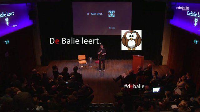 Live stream registratie - Woensdag 26 maart 2014 http://www.debalie.nl/agenda/programma/over-creativiteit-%26-het-belang-van-kunst+-en-cultuuronderwijs/e_9420916/p_11268475/   De vierde in de reeks De Balie Leert. Deze avond spreken we over het belang van goed kunst- en cultuuronderwijs. Wat is goed kunstonderwijs nu precies en waarom is het zo belangrijk? Welke belangrijke -vakoverstijgende- vaardigheden leren kinderen ermee?  We willen met dit gesprek een lans breken voor kunst en ...