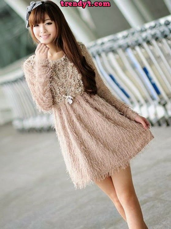 Latest Korean Girls Fashion Style Collection 2014 Korean Dresses Pinterest Fashion Styles
