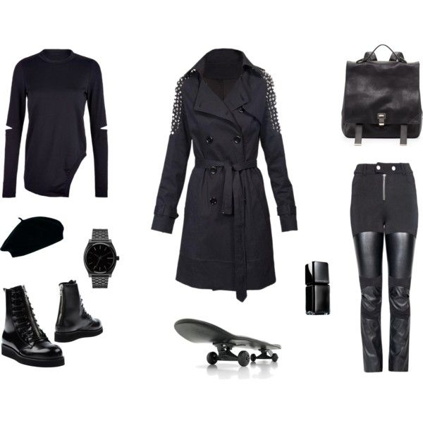 """""""Black & The City"""" by black-blessed on Polyvore"""