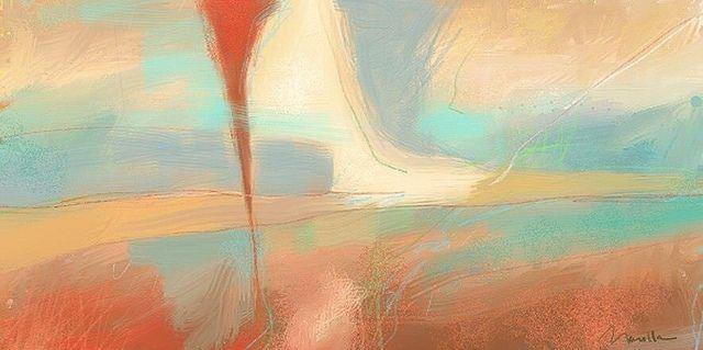 Abstract art by Marcello Dellova