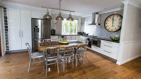 Modern Rustic Kitchen Industrial With Rustic Warmth House Rules Qld Amy Sean Yahoo7